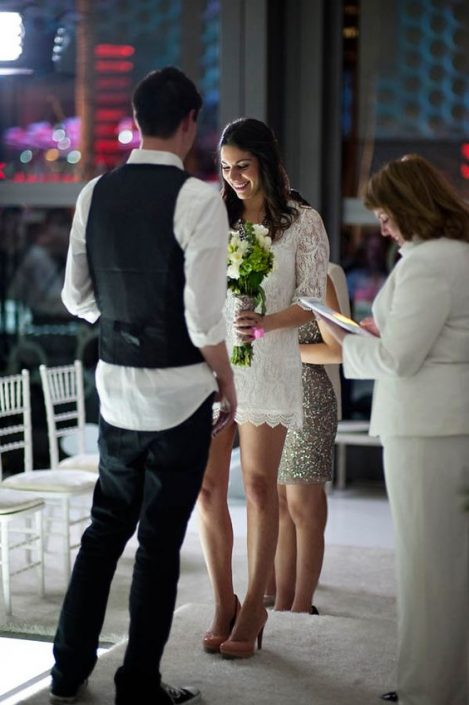 Pop up weddings and elopements are all the rage with millennials. What better place than Vegas for one? The Cosmopolitan in Las Vegas.