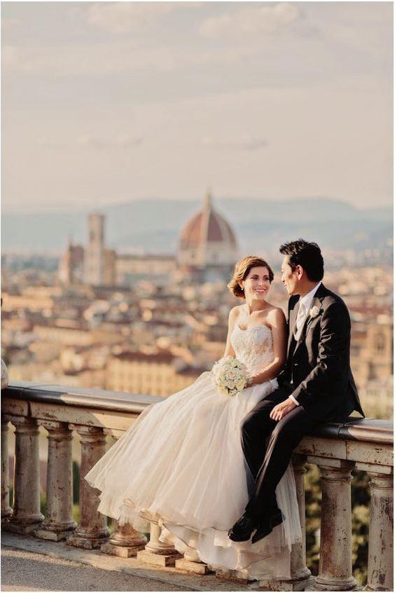 Una boda internacional en Florencia, Italia. Facibeni Fotografía.