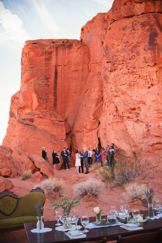 Imagine getting married in the Valley of Fire.