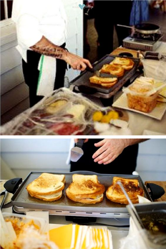 Fun and interactive grilled cheese station. We tell you all about it!