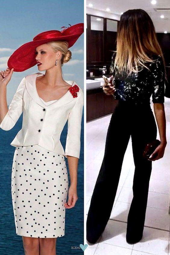 Dos looks muy diferentes para asistir a una boda. Un vestido de Sonia Peña para invitada a una boda de día o al aire libre. Los pantalones palazzo son ideales para lucir fabulosa en toda ocasión.