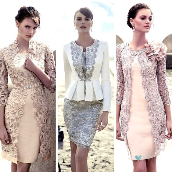 The latest nude and blush dresses by Carla Ruiz.