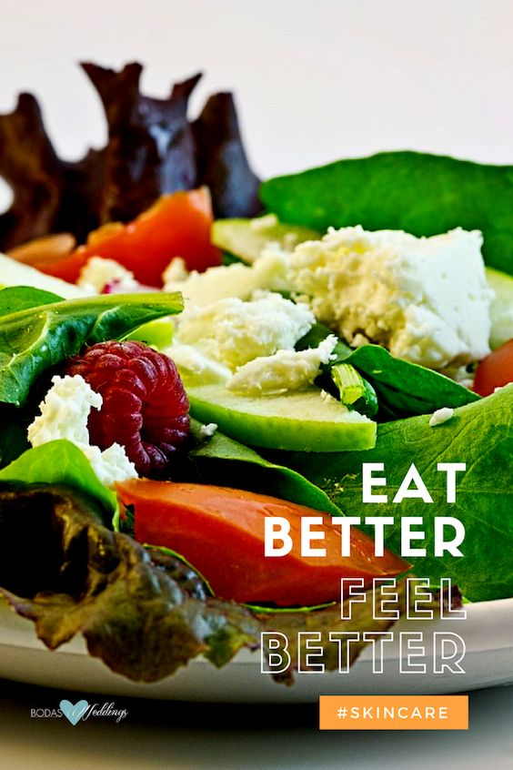 Keep your skin healthy and alive. Eat better, feel better.