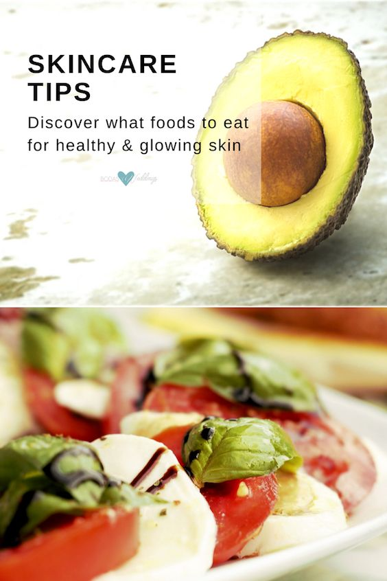 Skincare tips: Discover what foods to eat for healthy and glowing skin.