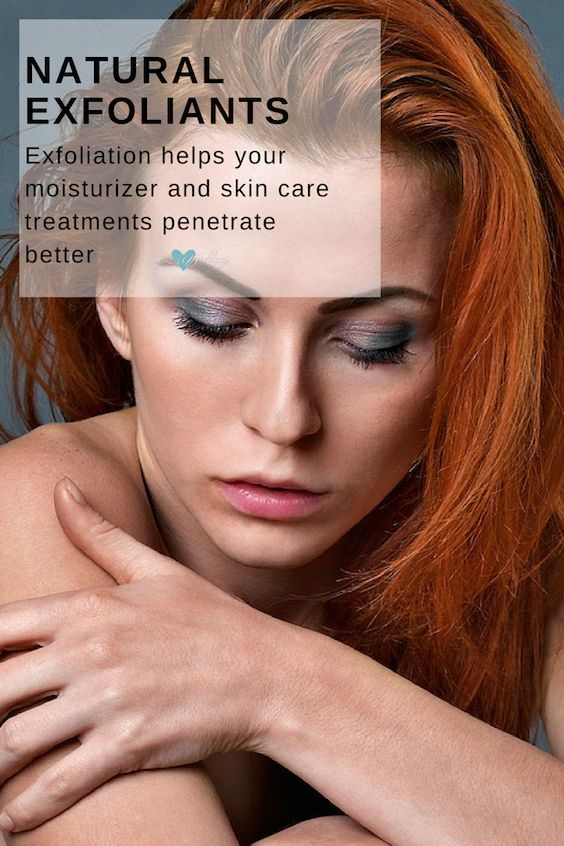 Regular exfoliation can help remove dead skin cells, help keep pores clean and improve blood circulation, which will give your skin a healthy, more youthful glow.