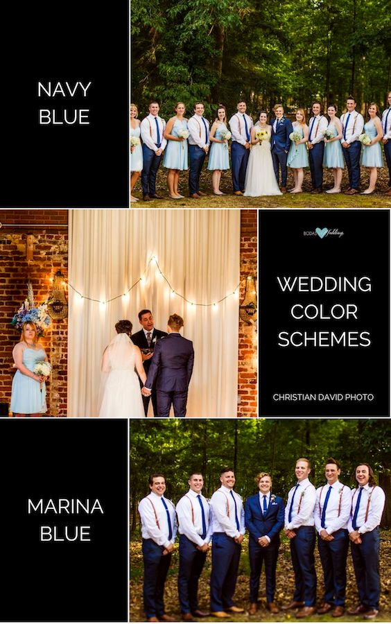 Navy Blue Wedding Color Schemes: Stunning Ideas & Decor