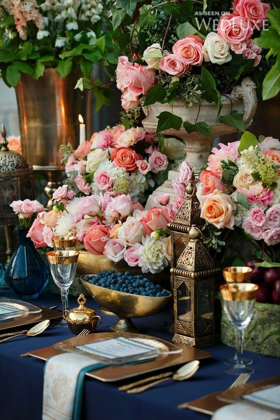Opulent wedding inspiration. Photography: Visual Cravings.