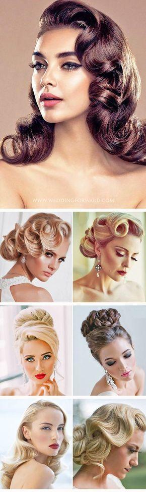 Desde los 20s con el estilo Gatsby y los sensacionales chignons de los 60s a los rodetes retro de los 50s, estos peinados de boda vienen en todas las formas y tamaños y son perfectos.
