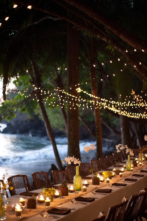 Reception in the rain forest of Costa Rica by tropicaloccasions.