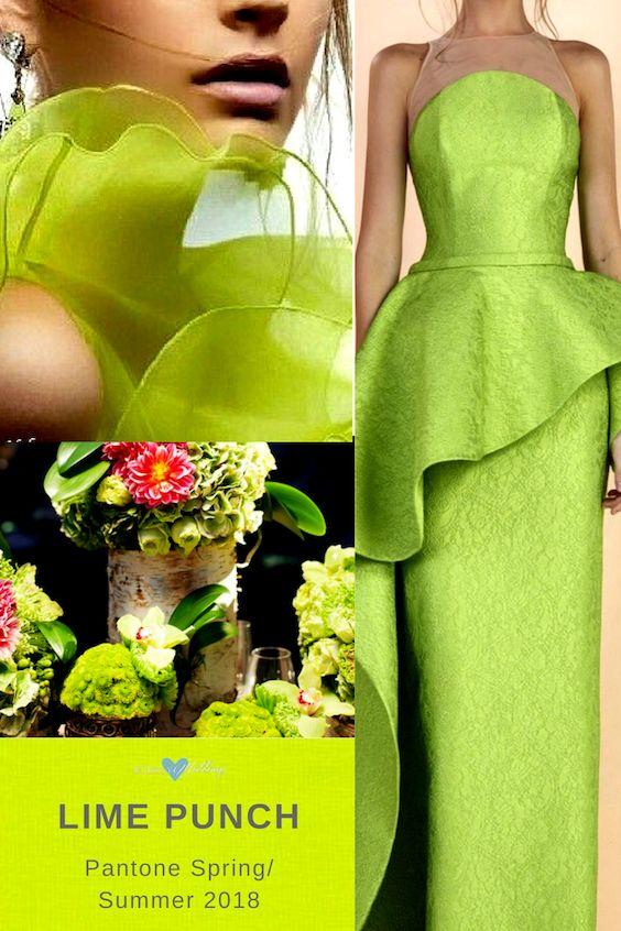 Vestido de Edward Arsouni y deco por Duke Photography en Verde Lima.