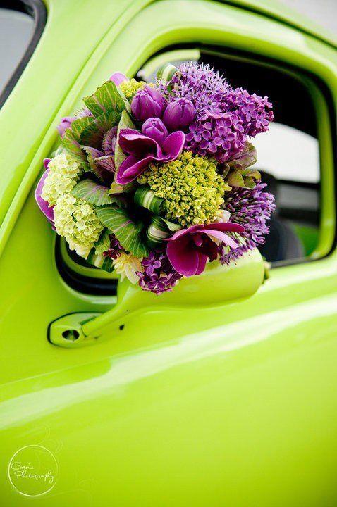 Verde Lima y Spring Crocus, una combinación de colores para bodas 2018 ¡divina!