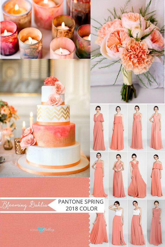 La delicadeza del blooming dahlia reflejado en cada aspecto de tu boda.
