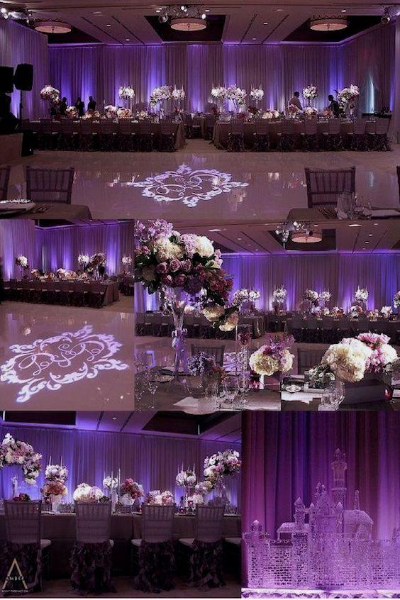 Una boda en Ultra Violet. Spandana Reddy Sappidi.