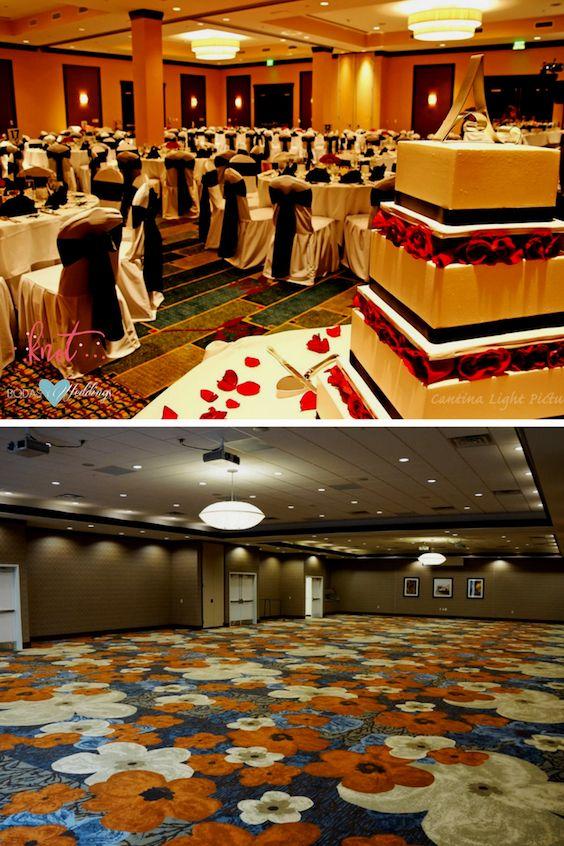 No considerar los colores del salón es un error garrafal al elegir los colores de boda.