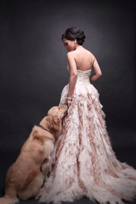 Cutest wedding picture. Find out how to incorporate pets in your wedding.