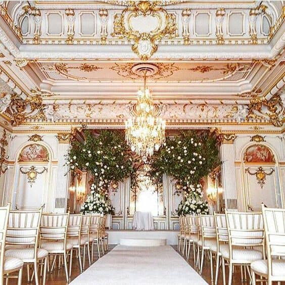 ¿Te imaginas una boda mas espectacular que esta en el club privado Cosmos Club en #WashingtonDC?