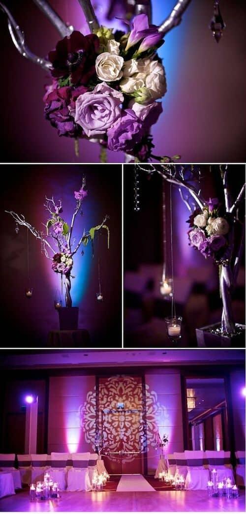 Glamifica tu boda con la ayuda de una buena iluminación.