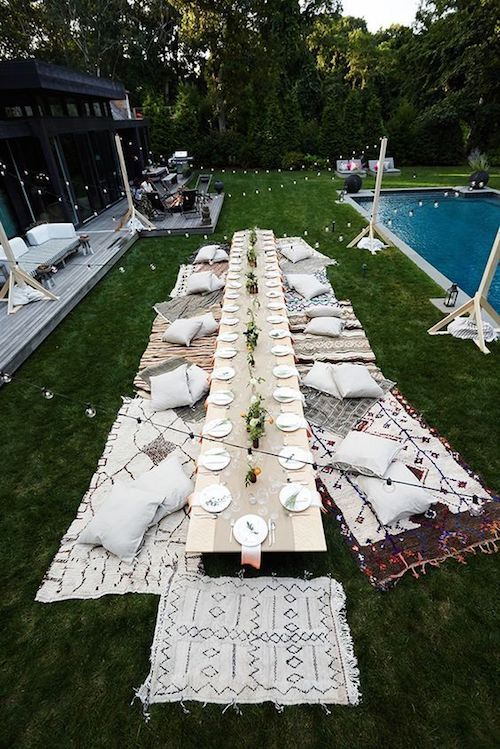 Bridal shower with amazing ambiance. Just take the party outside.