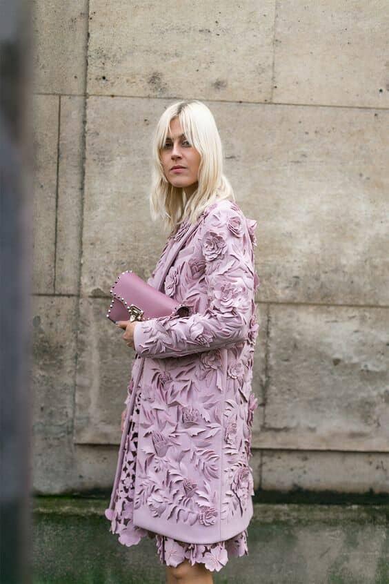 Todo el estilo de Fashion week en París. Foto: Diego Zuko.