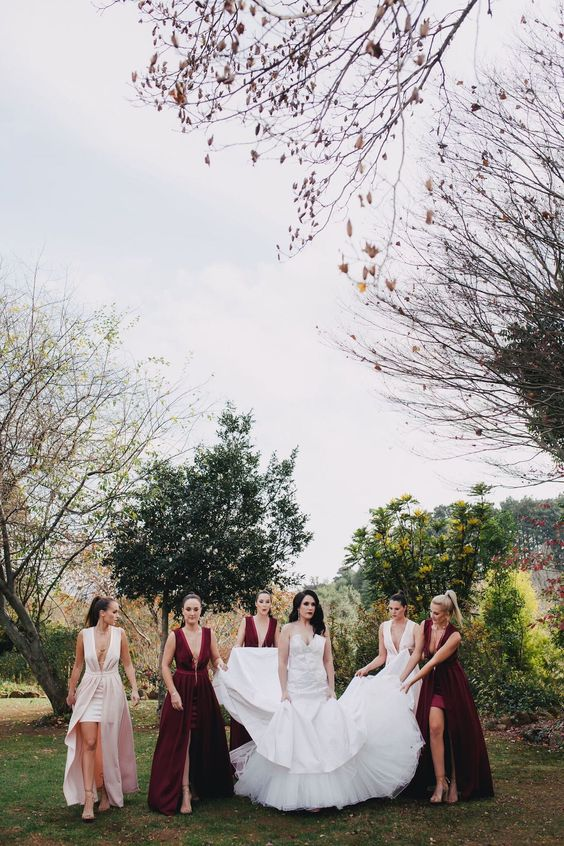 Romantic Gothic glam wedding. Vanilla Photography.