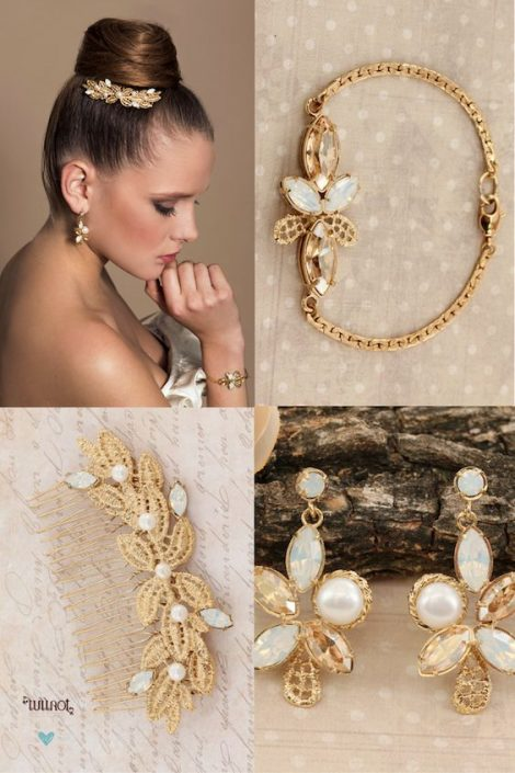 Exquisite and glamorous handmade wedding jewelry. Discover how to choose the right accessories for the ultimate bridal look.