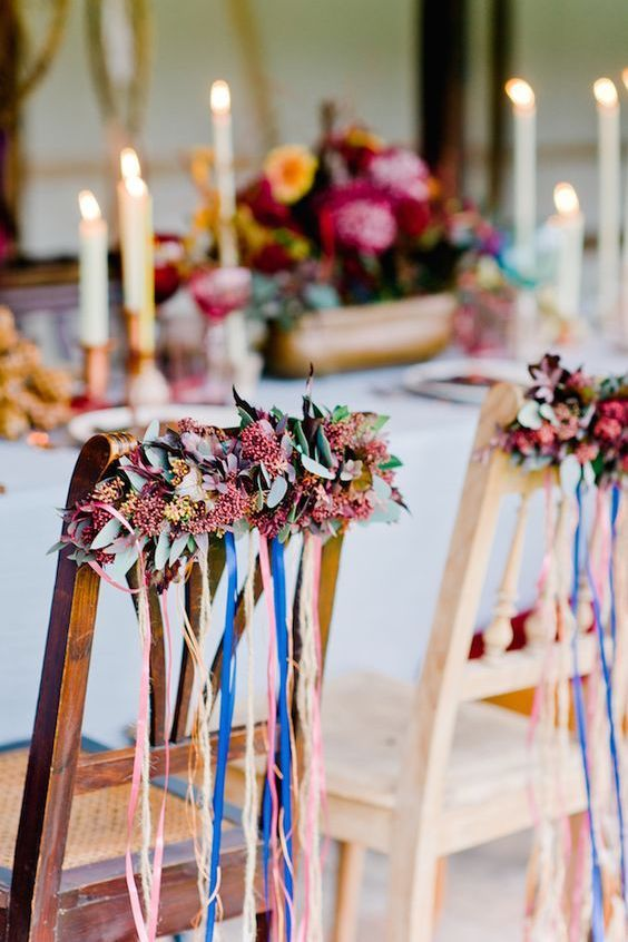 Beautiful eclectic intimate boho wedding in Germany by Nadia Meli Photography.