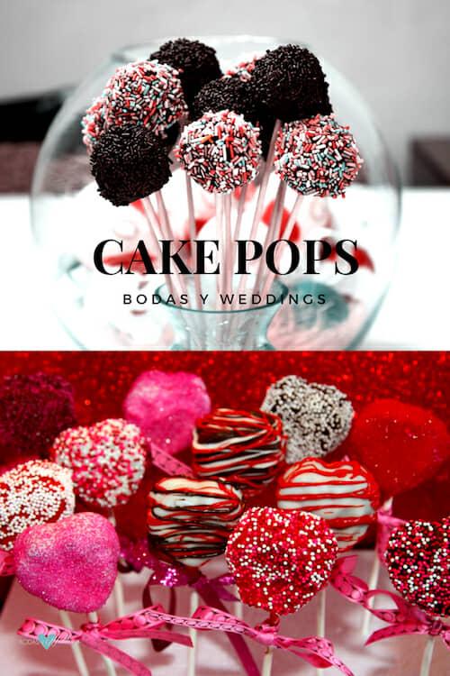Para las parejas golosas a deleitarse con cake pops caseros!