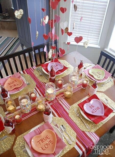 ¿Preparada para una cena de parejas para el día del amor?