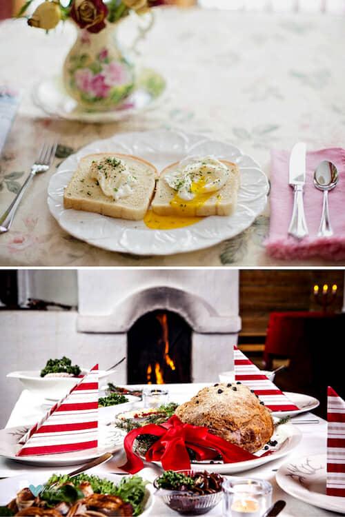 Prepara un romántico y delicioso desayuno o una cena juntos.
