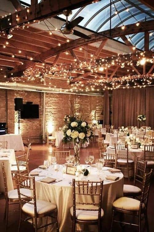 Beam-y up, Scottie! Loft on Lake Weddings.