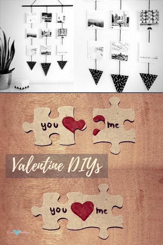 Otras dos manualidades para el día de los enamorados para regalar.