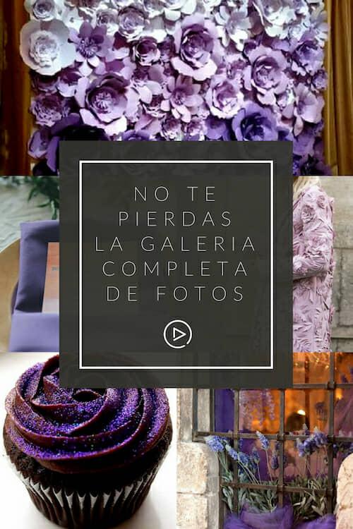 ¡No te pierdas la galería completa de fotos sobre bodas ultravioletas!