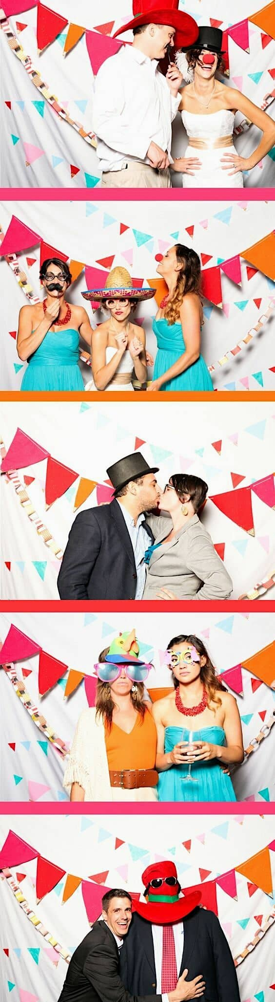 Perfectly simple photo booth ideas.