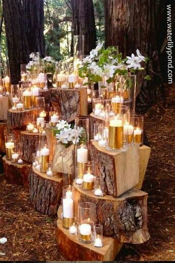 28 amazing wedding reception lighting ideas you can steal for Wedding venue decoration ideas pictures