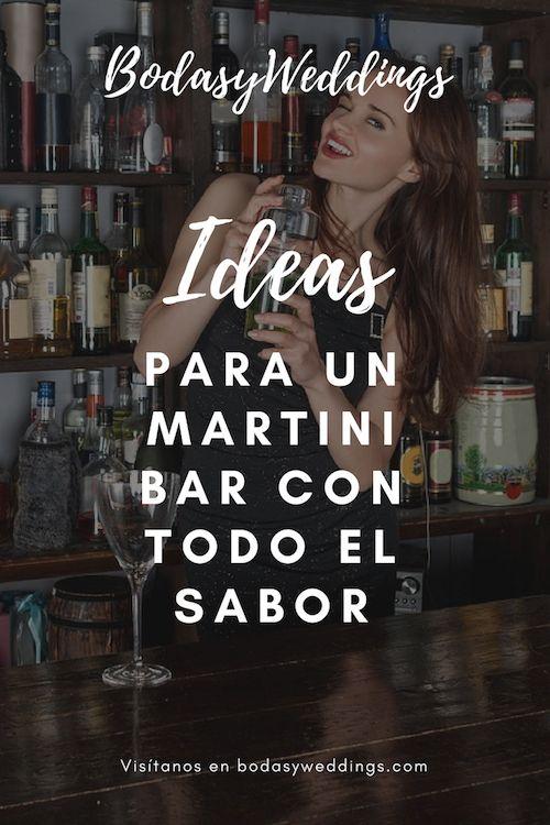 Si buscas algo mas glam, contrata a un barman para preparar las bebidas.