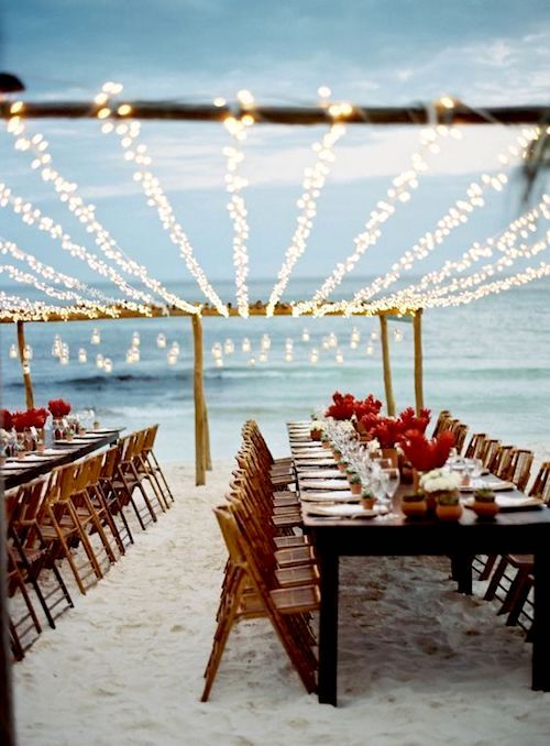 Even beach weddings in Tulum, Mexico, need a headcount. Photo: Tec Petaja.