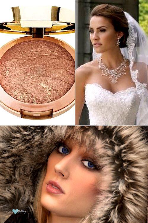Las novias conscientes de su presupuesto no necesitan gastar en blush para las mejillas. Si bien el uso de lápiz labial como rubor no es nuevo, es uno de los trucos de maquillaje que funciona muy bien. Logra un hermoso rubor aplicándolo y difuminándolo en tus mejillas.