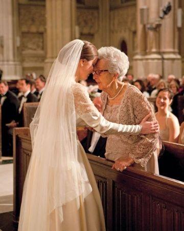 Una foto imperdible para el día de tu boda. Algo que no puedes ensayar.