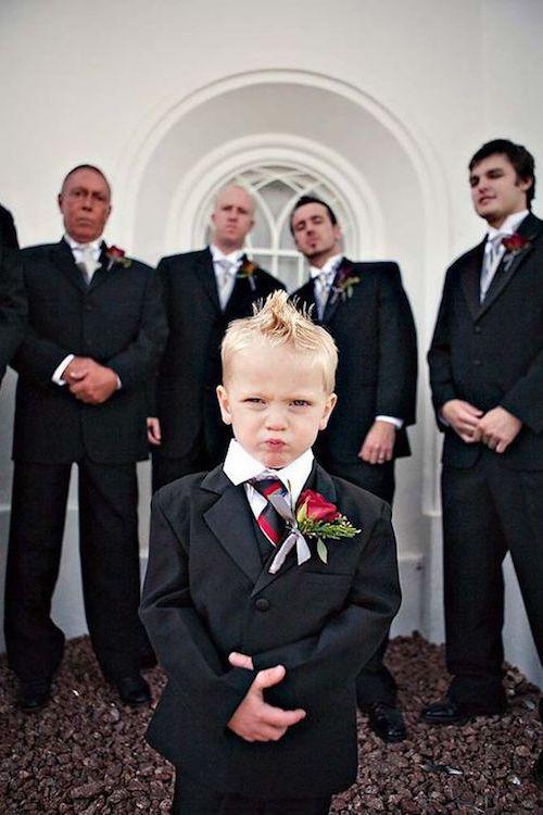 La pose de foto perfecta. Cópiate esta idea para tus fotos de casamiento.