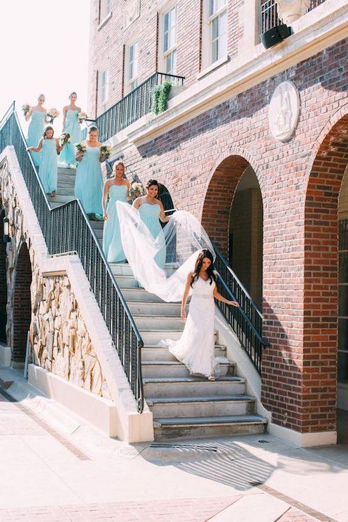 ¿Ya pensaste como organizarás la salida de la ceremonia? Foto en el Magnolia Hotel en Omaha, Nebraska.