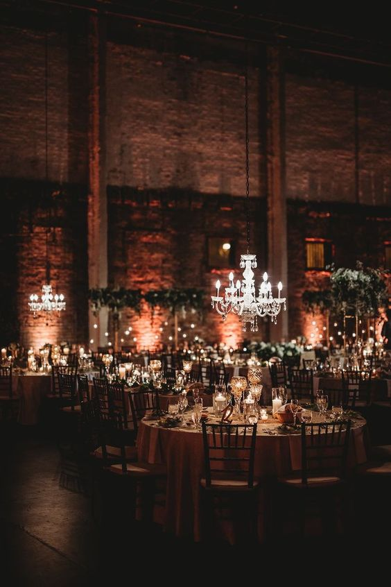 Ultra romantic weddings where industrial meets vintage are all the rage this year.