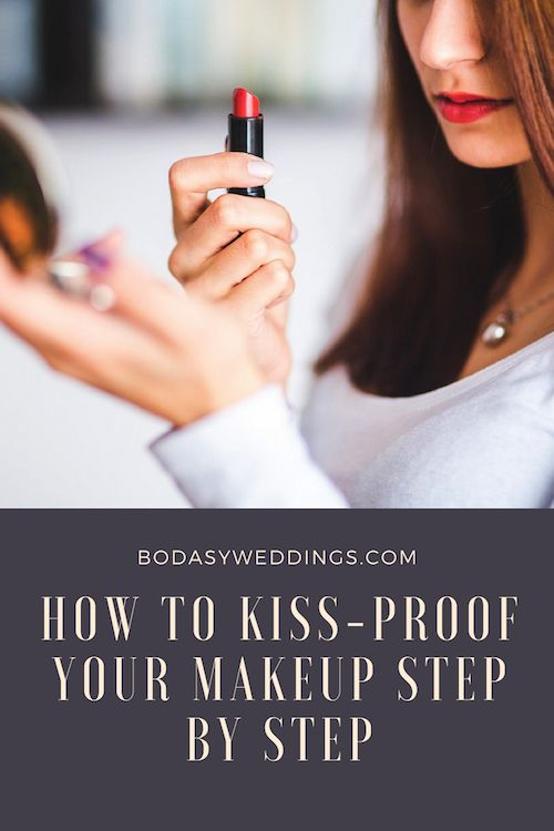 How to kiss-proof your makeup step by step.