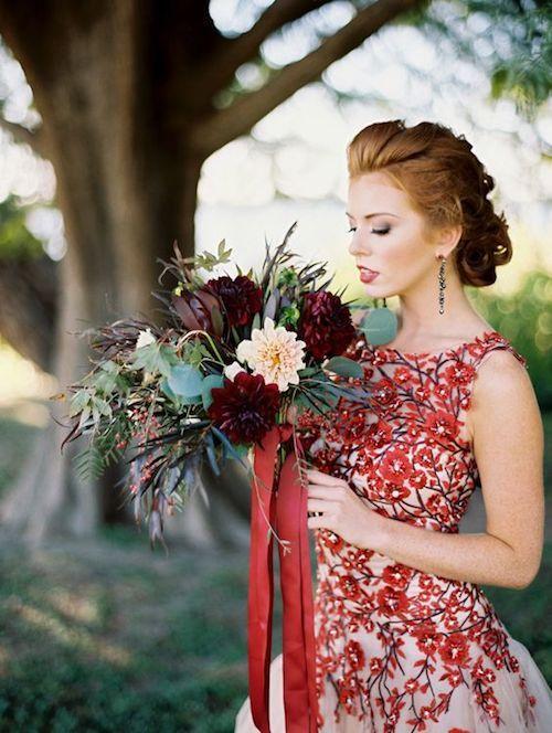 Un ramo de novia con poderes mágicos.
