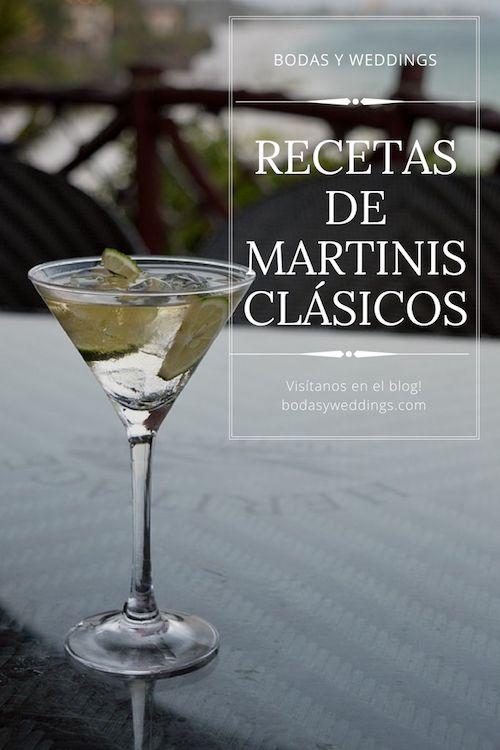 Recetas de Martinis clásicos e imperdibles.