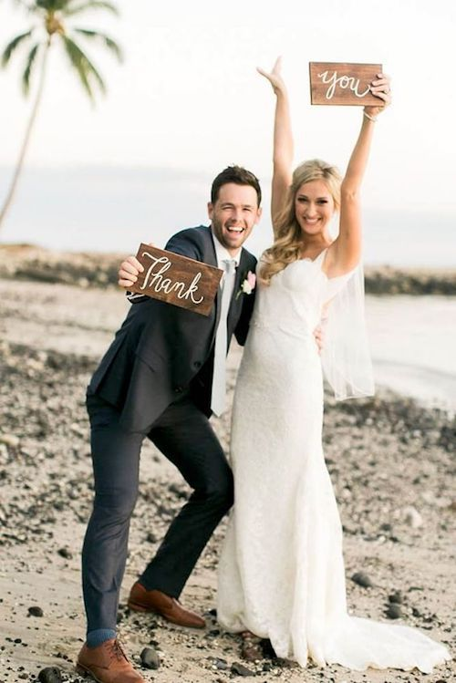 A must-have wedding photo you will want share with your wedding guest list, amiright?
