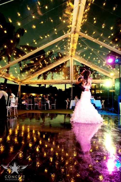 This tent has some serious dancing goals. Image: Concept Photography.