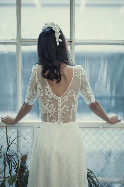 La nueva colección de vestidos para el civil de Laure de Sagazan 2018.