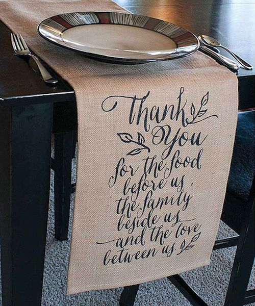 A rustic touch to a high end wedding table with a jute wedding runner by Jozie B.