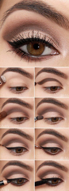 Cómo pintarse los ojos paso a paso con un tutorial de Lulu's.