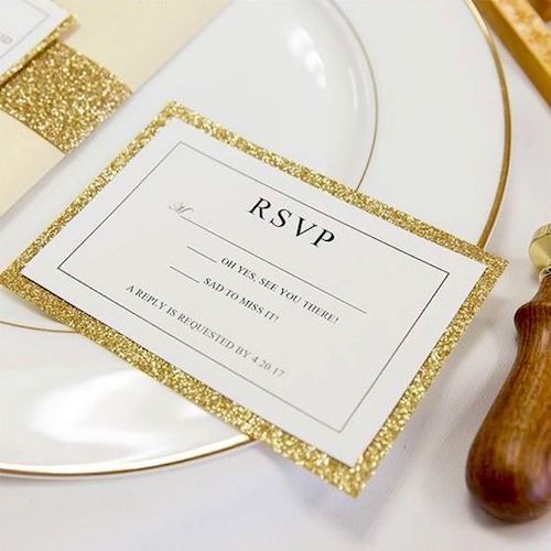 Will you add an RSVP to your perfect wedding invitation?